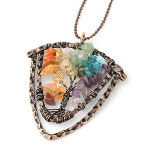 Collier Homme 7 Chakras