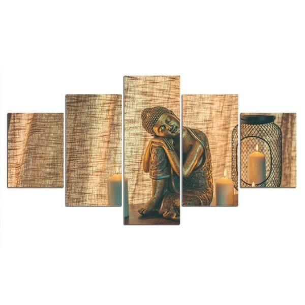Tableau Décoratif Bouddha Assis Zen 3