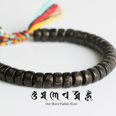 bracelet tibetain om