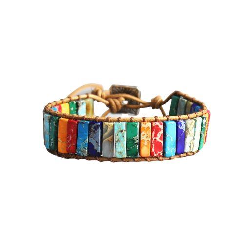 bracelet pierre naturelle 7 chakras