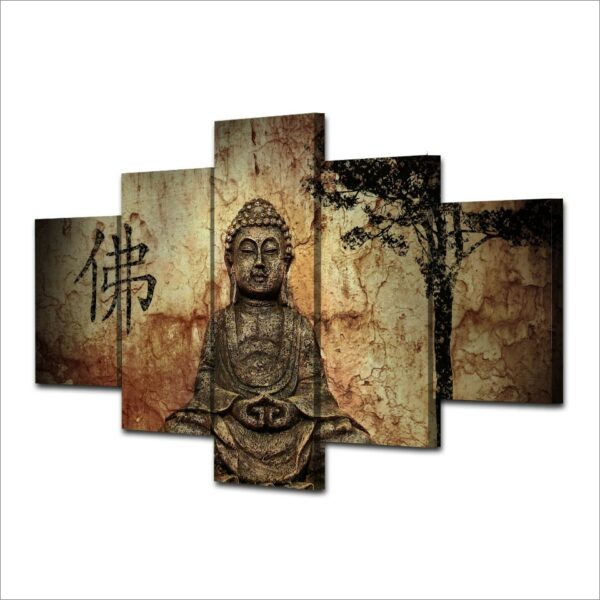 Tableau Bouddha Sage Décoration Bouddhiste 2