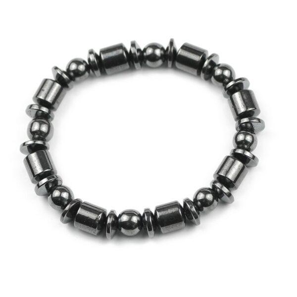 bracelet en hématite homme