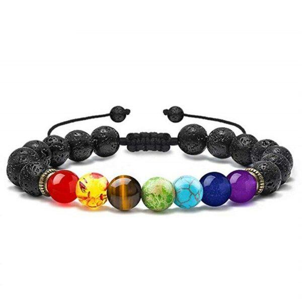 bracelet volcan pierre de lave