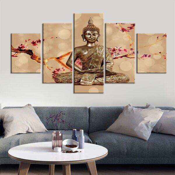 Impression sur Cadre Statue de Bouddha 1