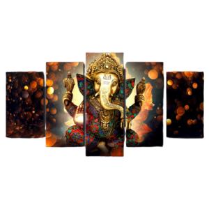 Tableau Bouddhiste Éléphant Sacré