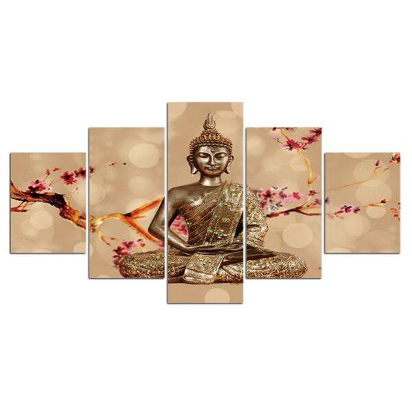 Impression sur Cadre Statue de Bouddha 3
