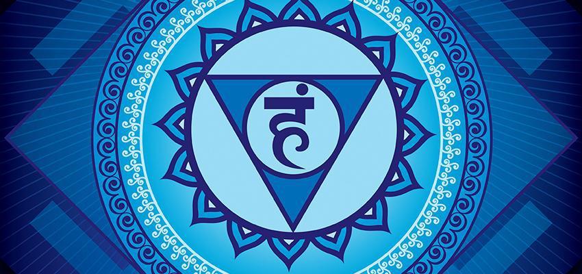 symbole du chakra gorge
