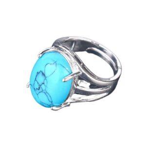 Bague pierre naturelle Turquoise