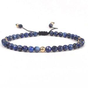 Bracelet Tibétain en Lapis Lazuli naturelle