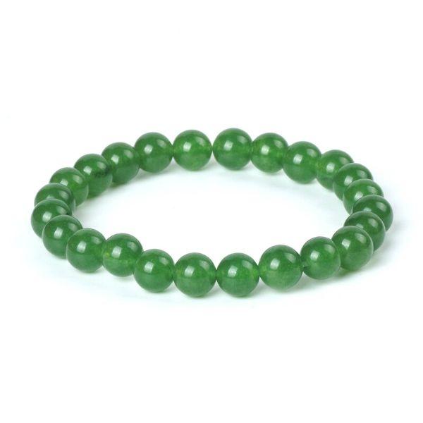 bracelet d'agate verte