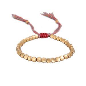 Bracelet Tibétain perle de cuivre