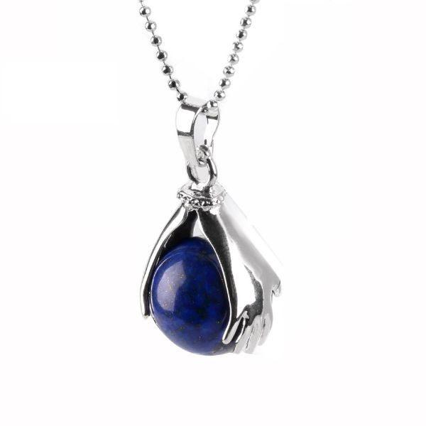 collier en lapis lazuli