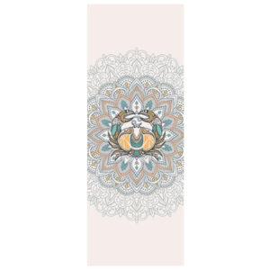 tapis de yoga blanc