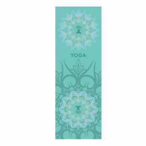 Tapis de Yoga Microfibre Mandala Entrainant