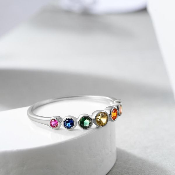 bague exeption 7 chakras