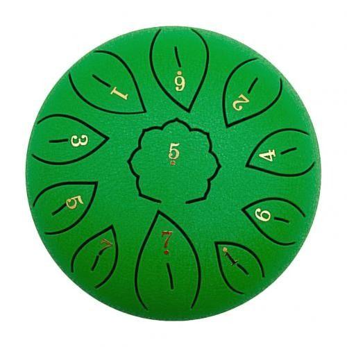 tambour chamanique vert