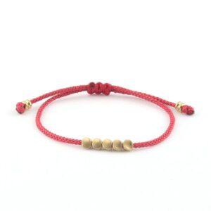 bracelet tibetain en perle de cuivre