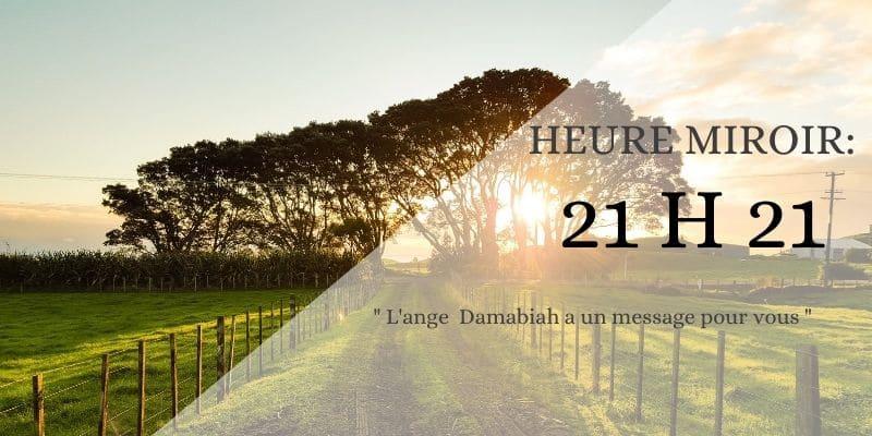message de l'heure 21h21