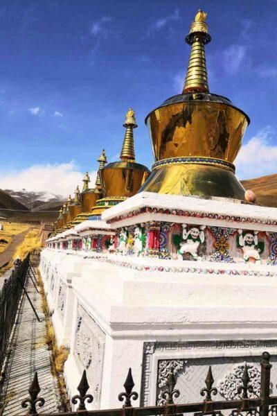 temple tibetain au tibet