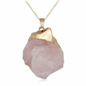 pierre brut quartz rose