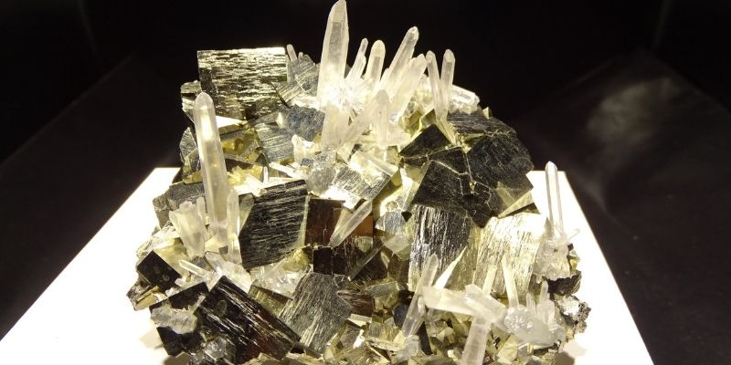 image de la pierre de pyrite