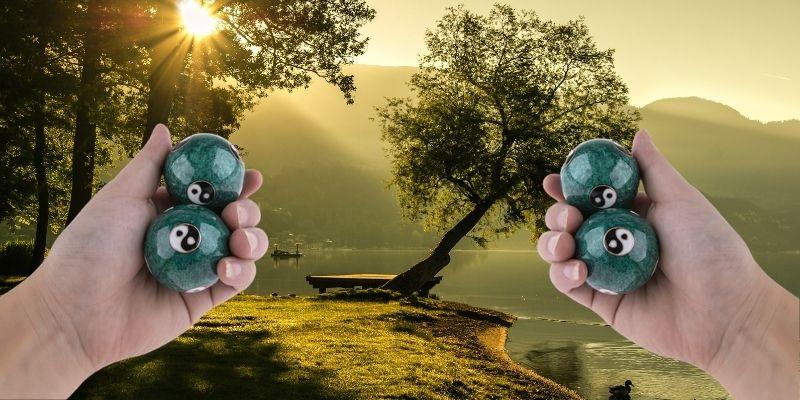 Relaxation avec les boules de qi gong