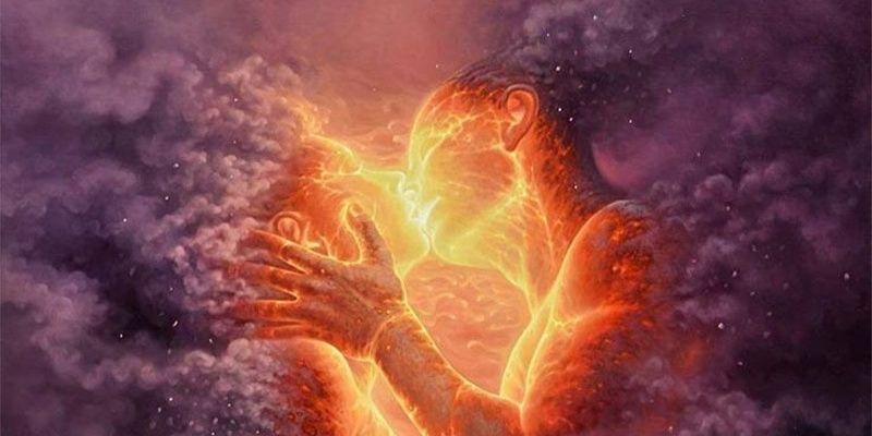 amour charnelle en feu