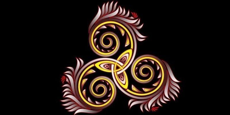 symbole de protection triskele