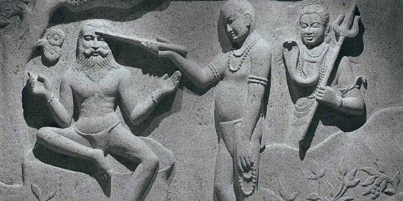 histoire de la méditation sculpture