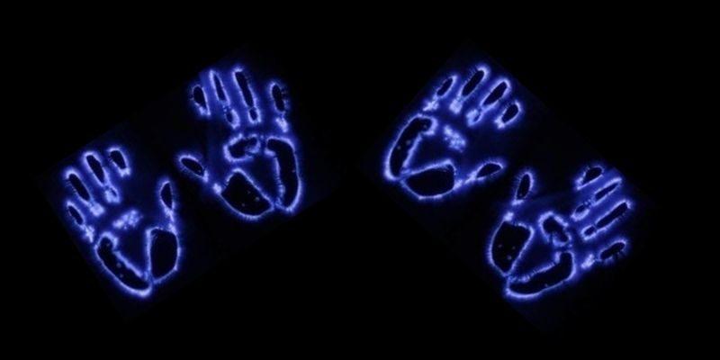 aura des mains d'une personnes