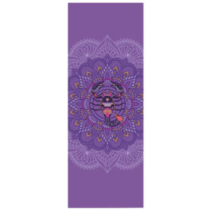 tapis de yoga violet scorpion