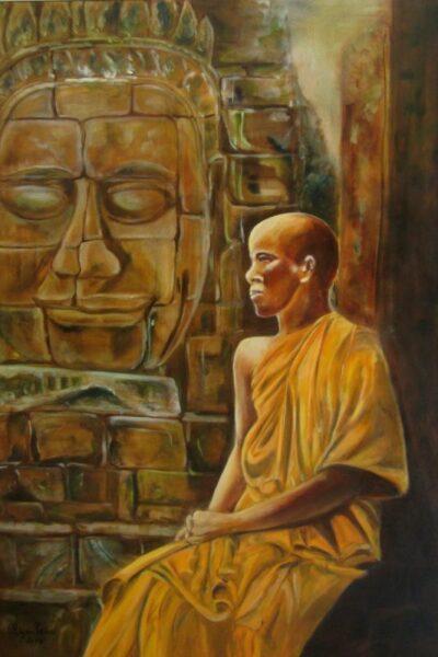 moine boudhiste tibetain