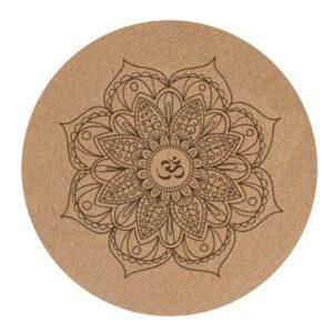 Tapis de méditation Mandala et Mantra