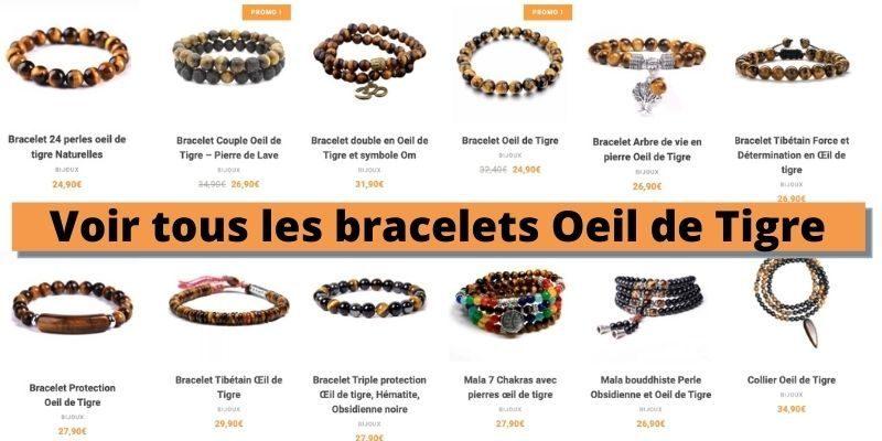 voir tous les bracelets oeil de tigre