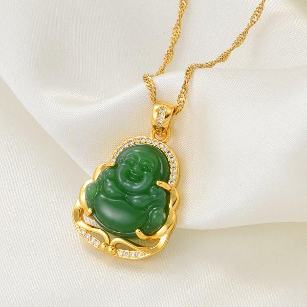 pendentif de bouddha en jade