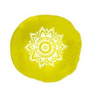 chakras representation jaune solaire