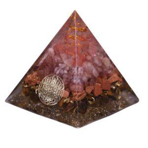 Pyramide Orgonite  Amour