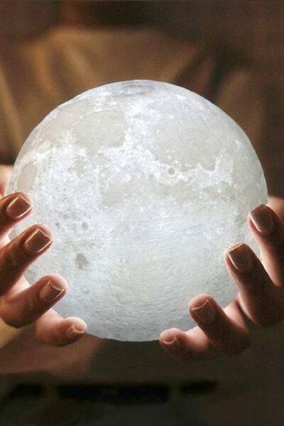 lampe lune féerique