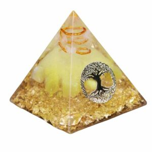 Pyramide Orgonite </br> Arbre de Vie