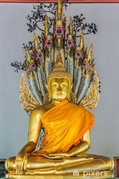 statue bouddha chakras