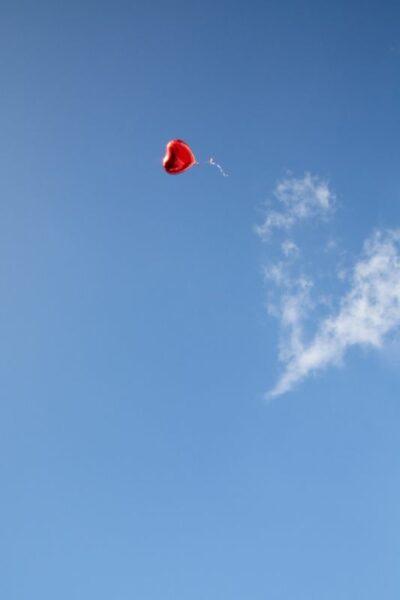 balon confiance dans le ciel