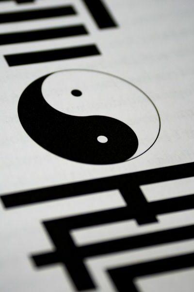 ying yang chinois