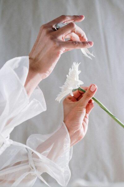 amour blanc bague pierre