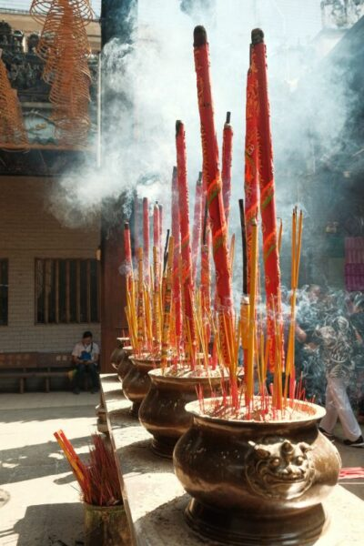 porte encens tibetain naturelle