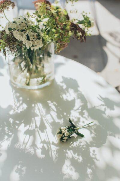 beauté blanc fleur