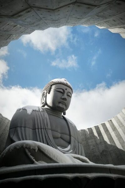 statue representation de bouddha
