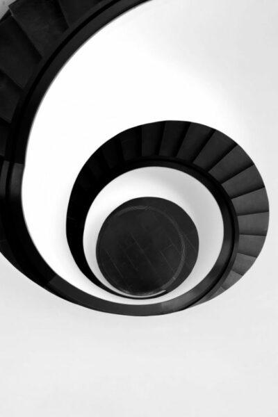 escalier infini hypnotisant