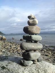 pile de pierre spirituelle