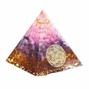 Pyramide Orgonite </br> Guérison