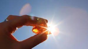 Rechargement au soleil de la pierre naturelle